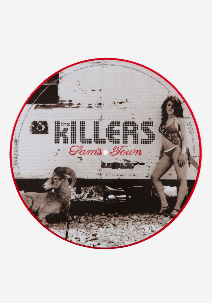 THE KILLERS Sam's Town  LP Picture Disc