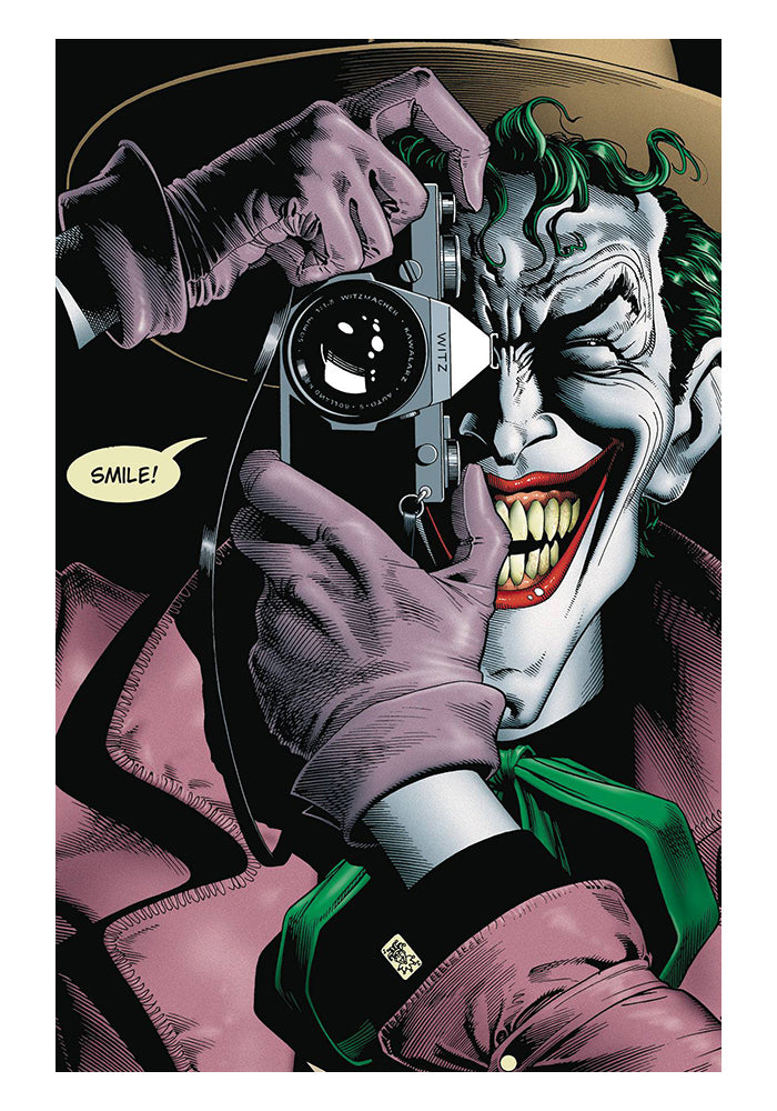 DC COMICS The Killing Joke Deluxe Edition Graphic Novel