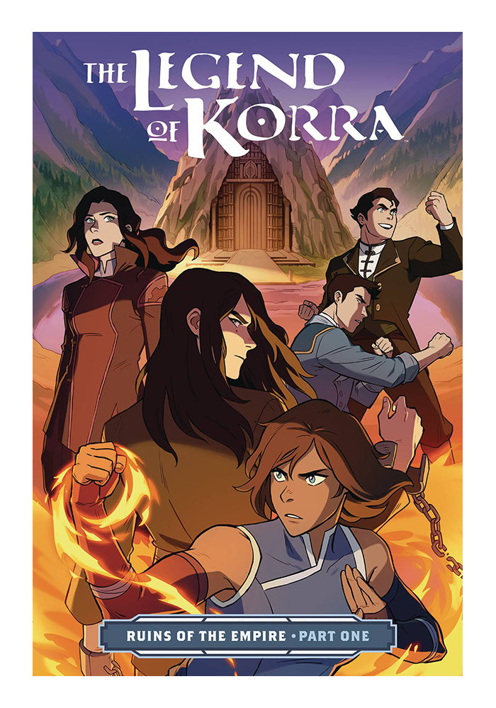 DARK HORSE The Legend Of Korra: Ruins Of The Empire Part 1 Graphic Novel