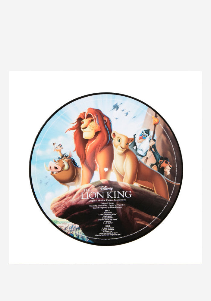VARIOUS ARTISTS Soundtrack - The Lion King LP (Picture Disc)