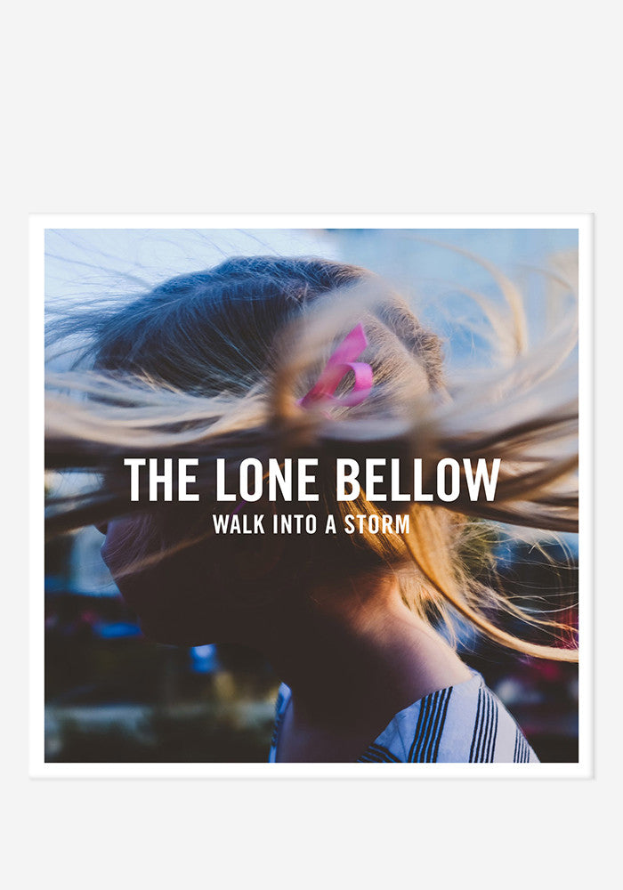 THE LONE BELLOW Walk Into A Storm With Autographed CD Booklet