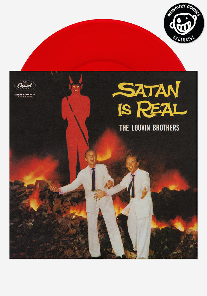 THE LOUVIN' BROTHERS Satan Is Real Exclusive LP