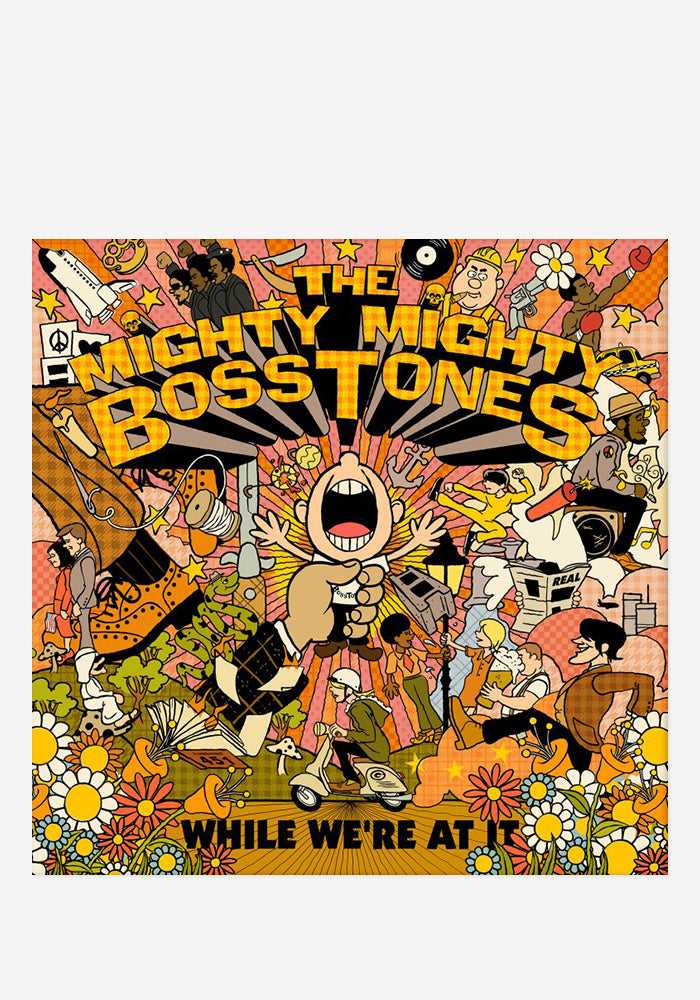 THE MIGHTY MIGHTY BOSSTONES While We're At It With Autographed CD Booklet