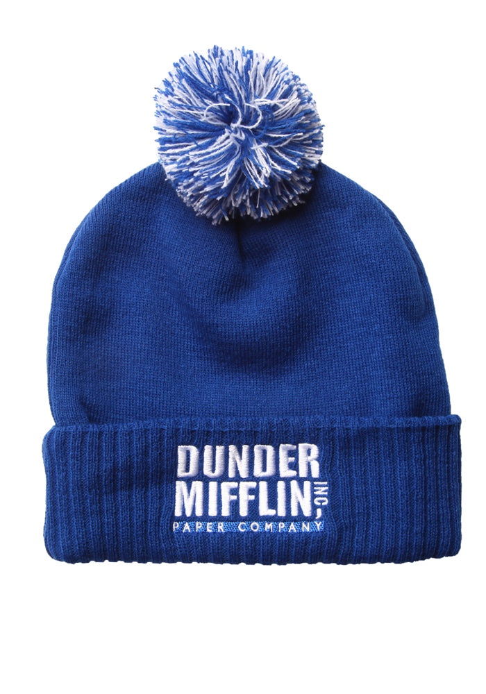 THE OFFICE Dunder Mifflin Pom Beanie