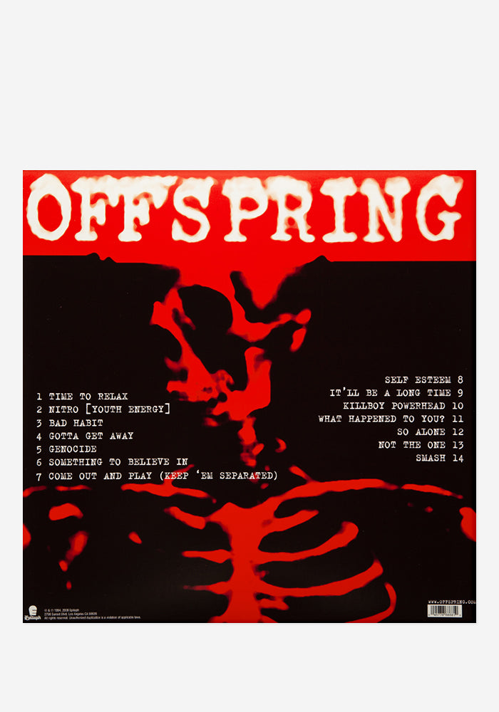 THE OFFSPRING Smash Exclusive LP