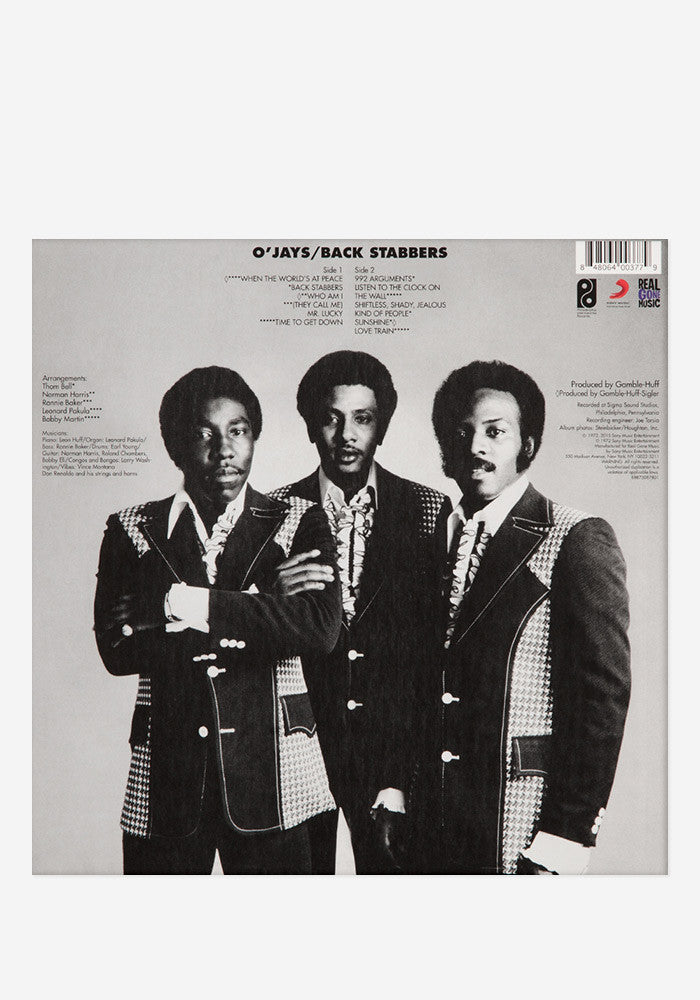 THE O'JAYS Back Stabbers Exclusive LP