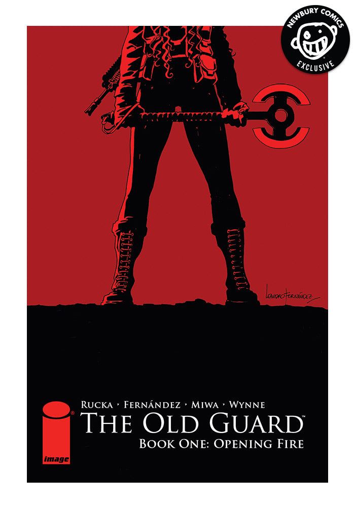 IMAGE COMICS The Old Guard Book One: Opening Fire Exclusive Variant Graphic Novel