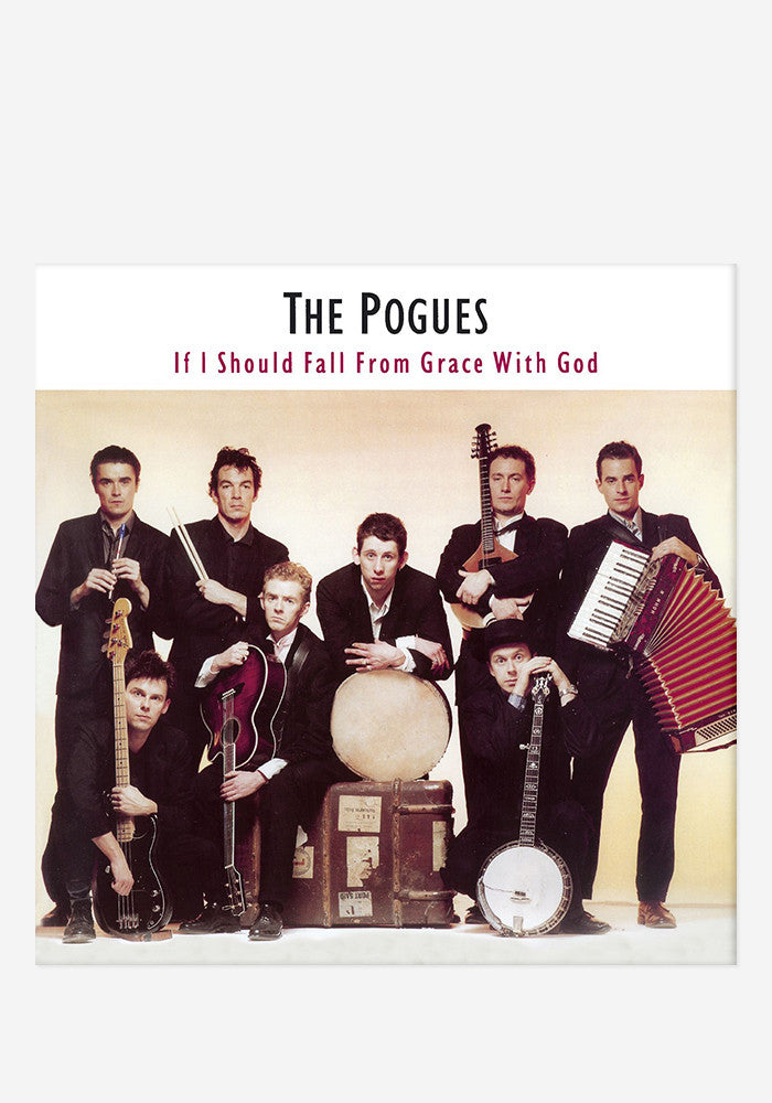 THE POGUES If I Should Fall From Grace LP