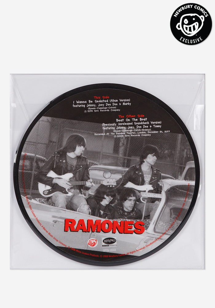 RAMONES I Wanna Be Sedated/Beat 7""