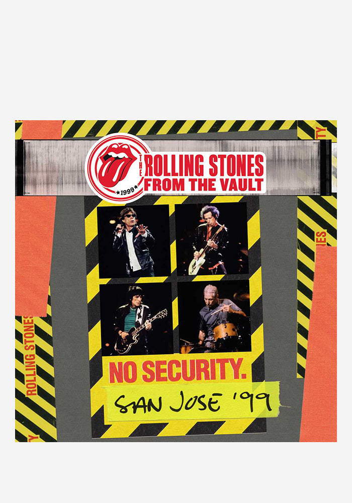 THE ROLLING STONES From The Vault: No Security - San Jose '99 3LP (Color)