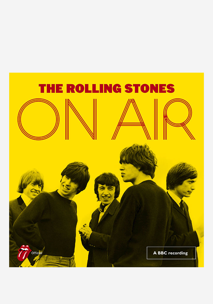THE ROLLING STONES On Air 2LP (Color)