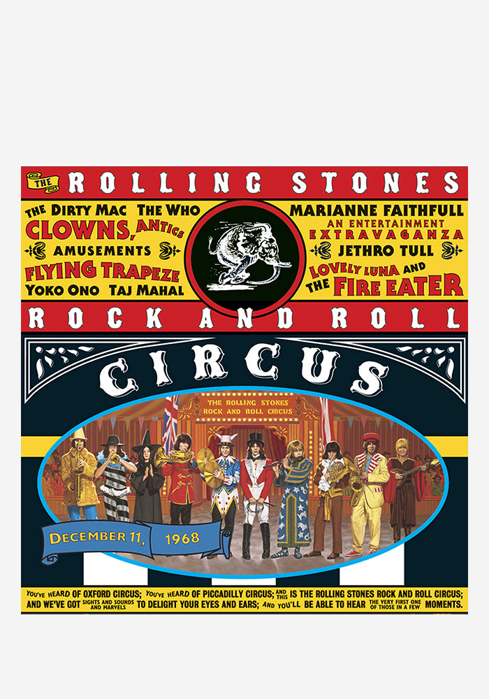 THE ROLLING STONES The Rolling Stones Rock And Roll Circus 3LP