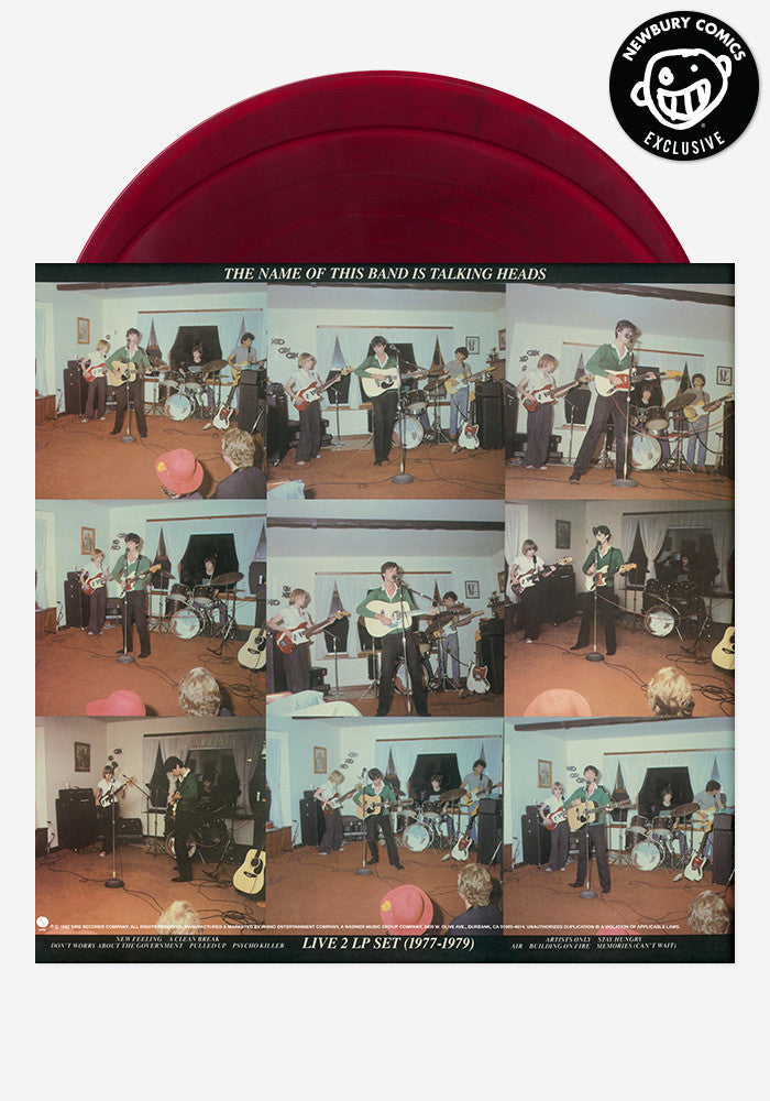 TALKING HEADS The Name Of This Band Is Talking Heads Exclusive 2 LP