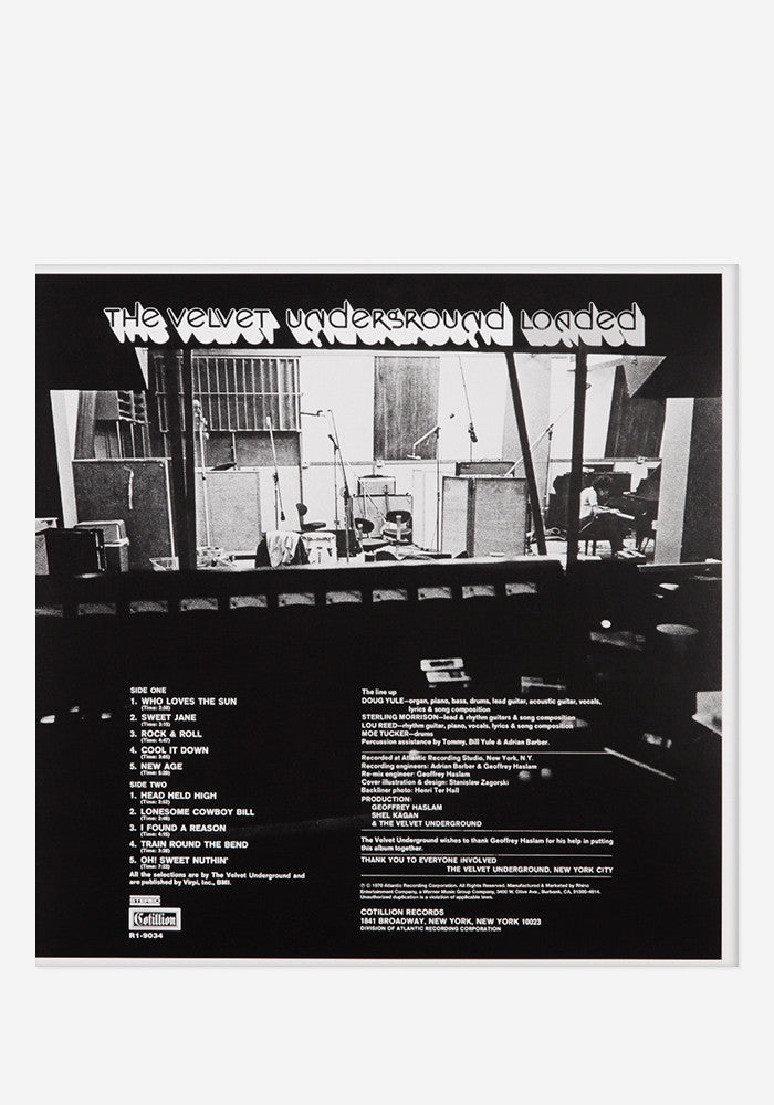 The Velvet Underground Loaded Exclusive Lp Newbury Comics