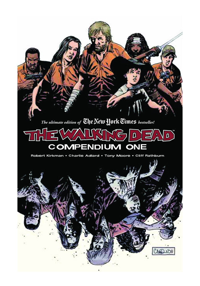 IMAGE COMICS The Walking Dead Compendium Vol 1 Graphic Novel