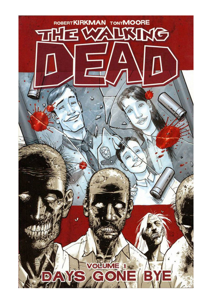 IMAGE COMICS The Walking Dead Vol 1:Days Gone By Graphic Novel