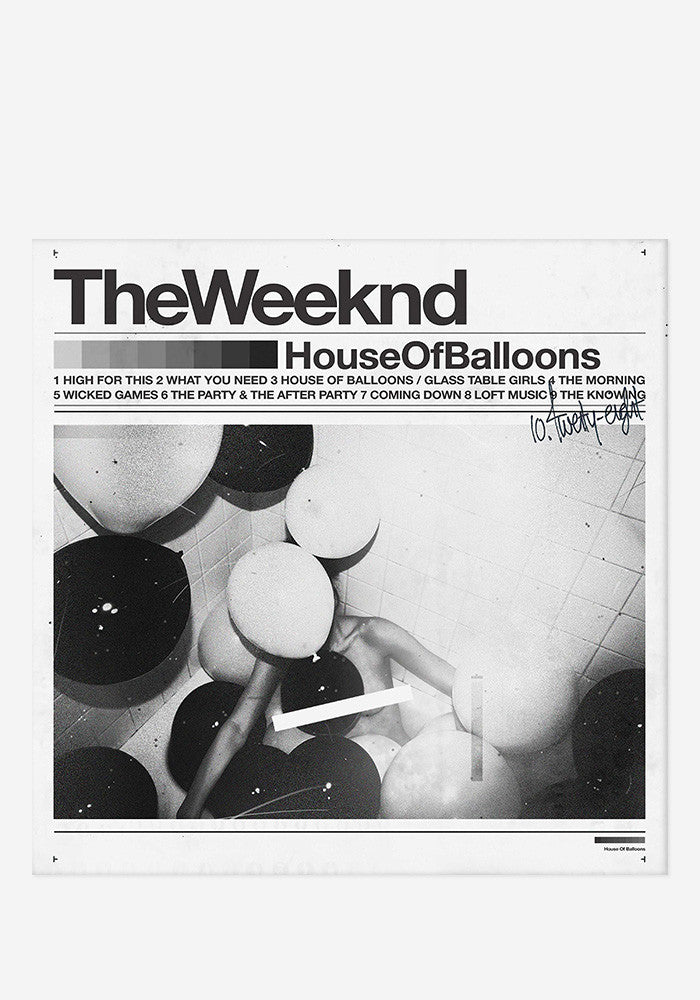 THE WEEKND House Of Balloon 2 LP