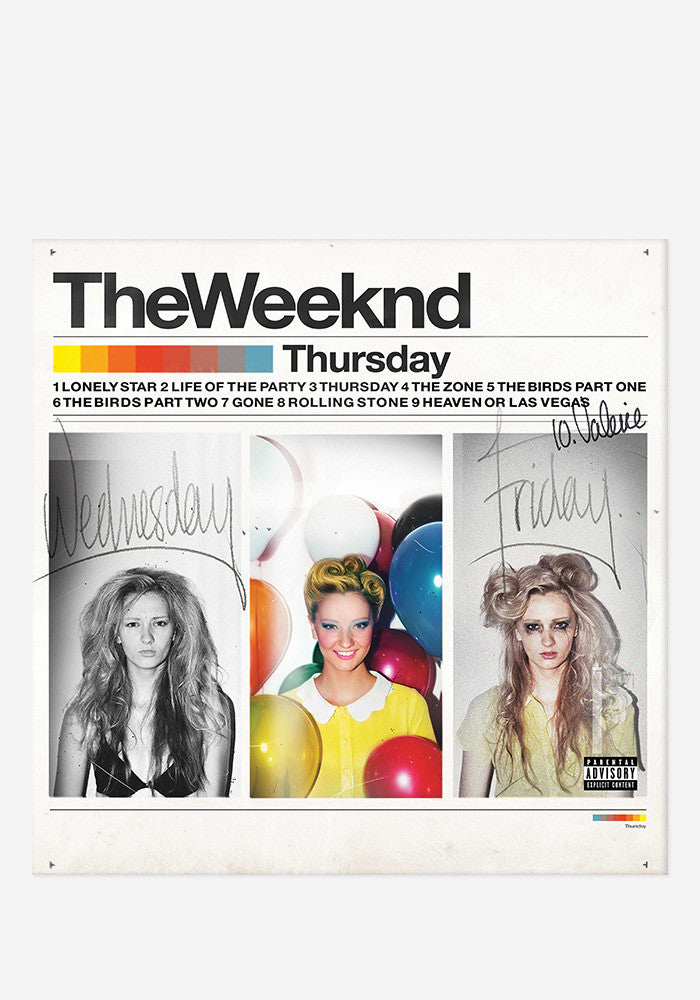 THE WEEKND Thursday 2 LP