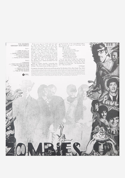 The Zombies Odessey And Oracle Exclusive Lp Color Vinyl