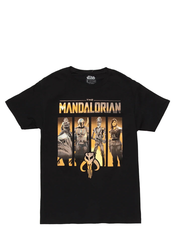 STAR WARS The Mandalorian Character Panel T-Shirt