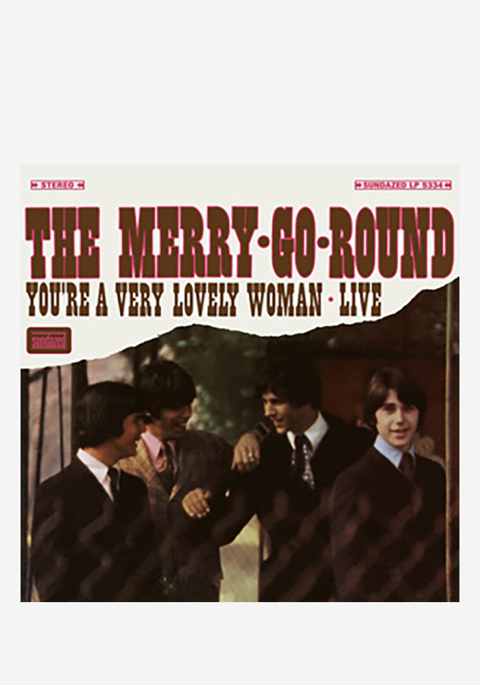 THE MERRY-GO-ROUND You're A Very Lovely Woman: Live LP