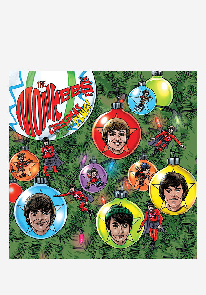 "THE MONKEES Christmas Party Plus! 2x7"" (Color)"