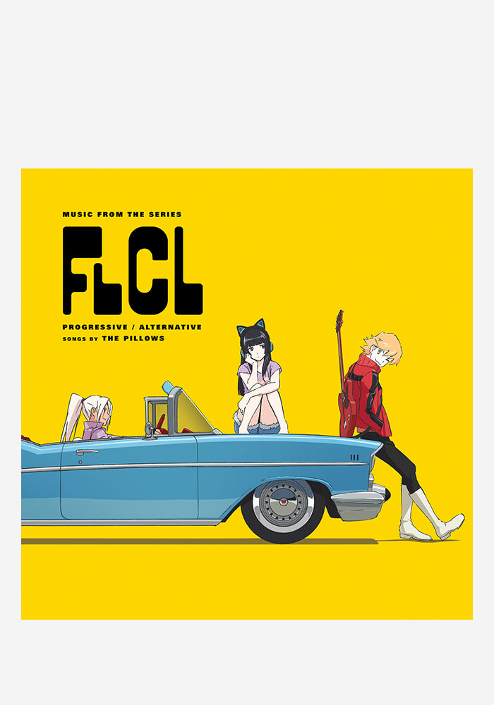 THE PILLOWS Soundtrack - FLCL Progressive / Alternative LP (Color)