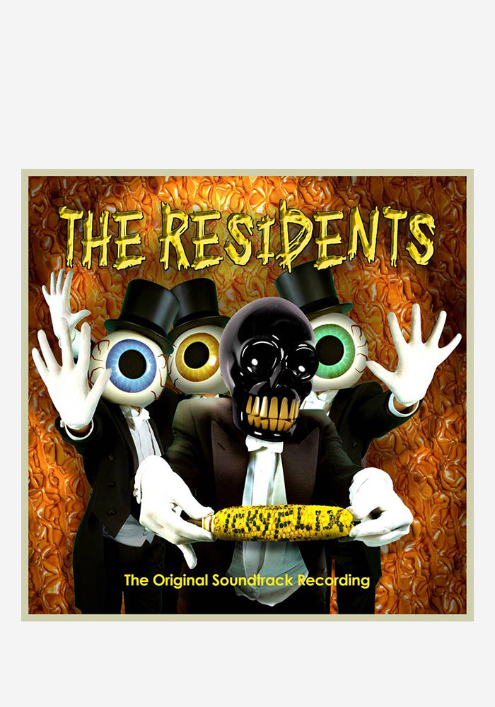 THE RESIDENTS Soundtrack - Icky Flix 2LP (Color)
