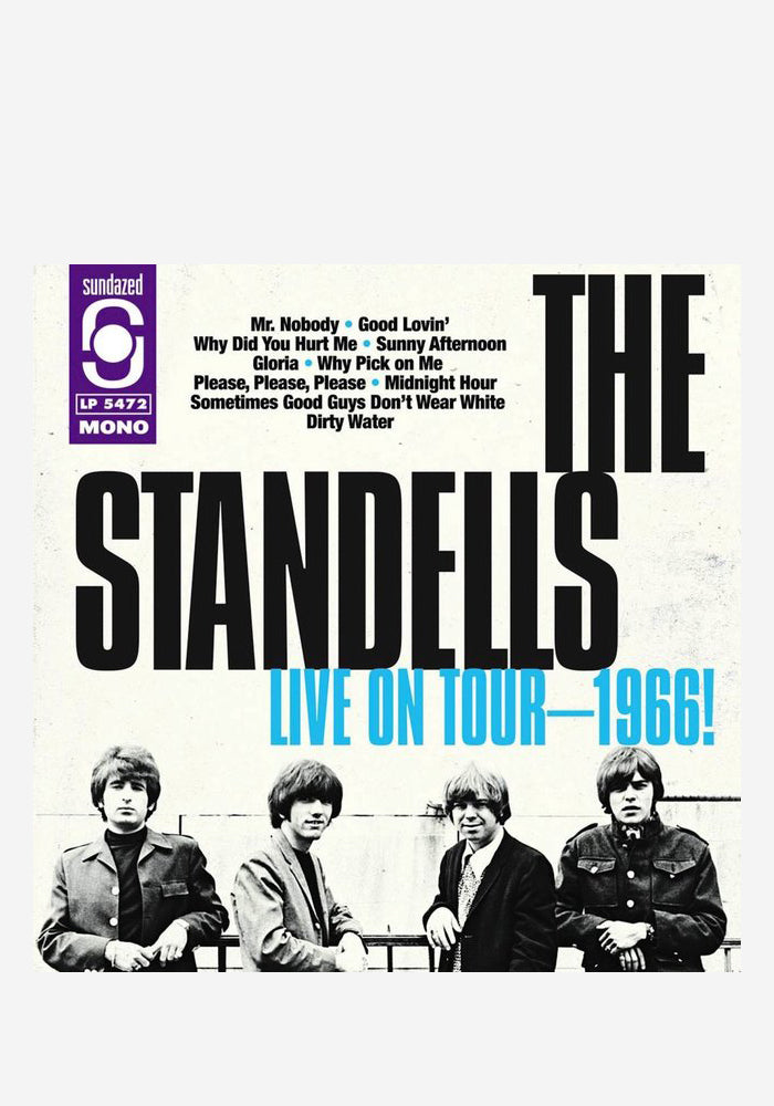 THE STANDELLS Live On Tour 1966 LP