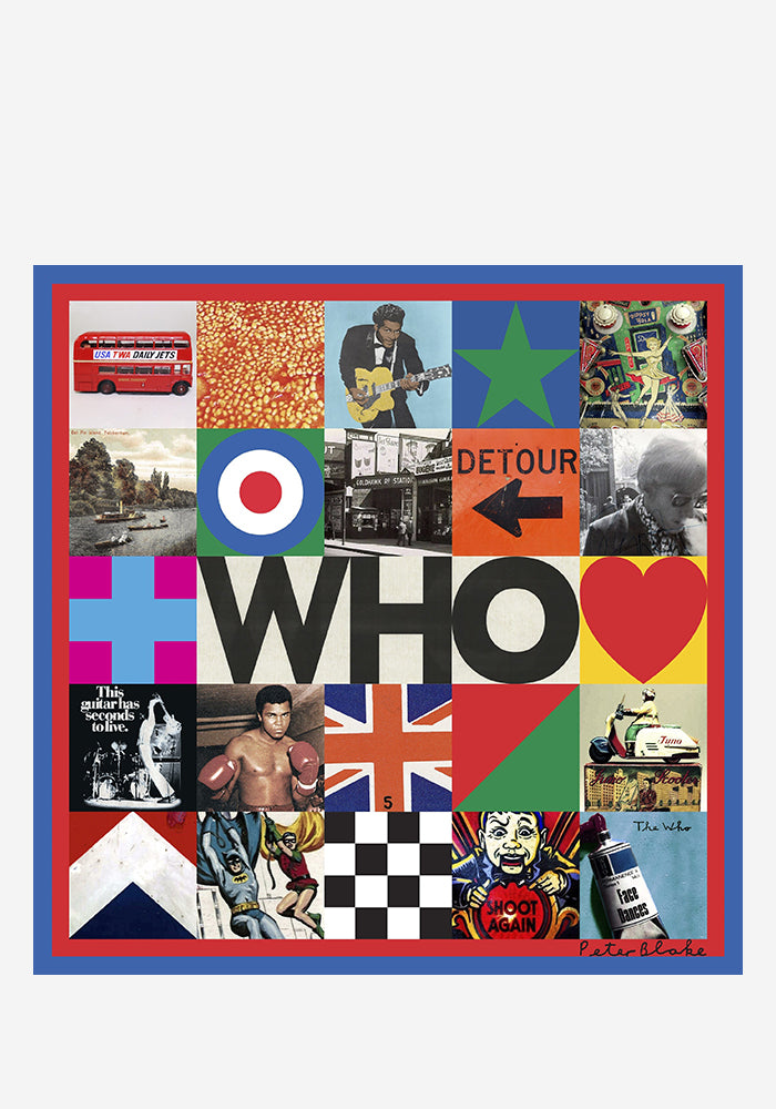 THE WHO WHO LP