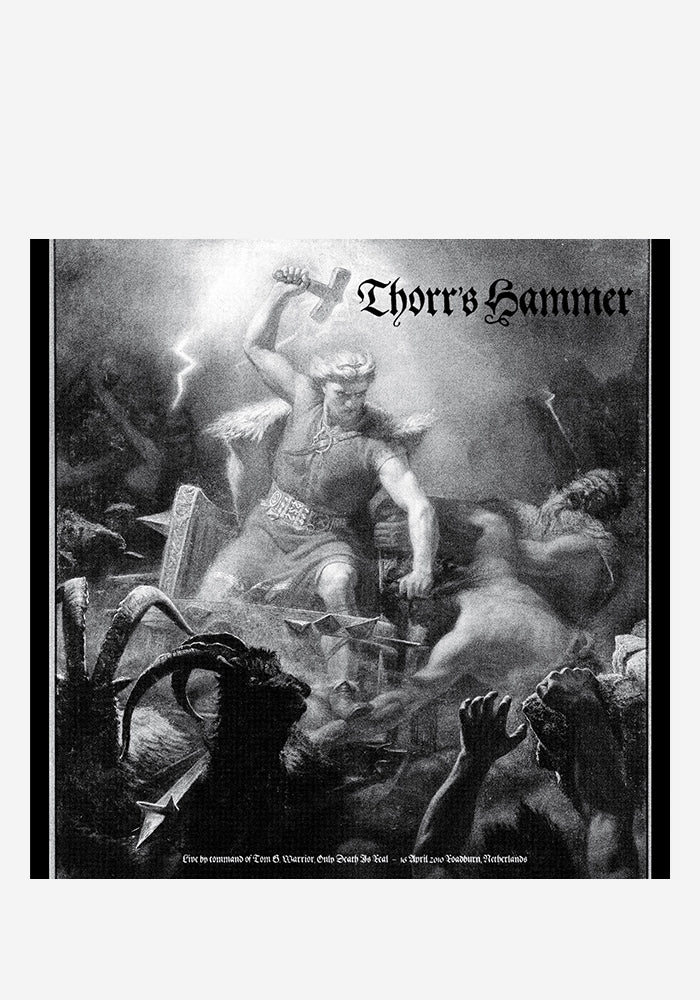 THORR'S HAMMER Live By Command Of Tom G. Warrior LP