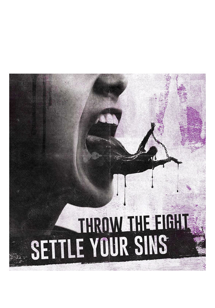 THROW THE FIGHT Settle Your Sins CD (Autographed)
