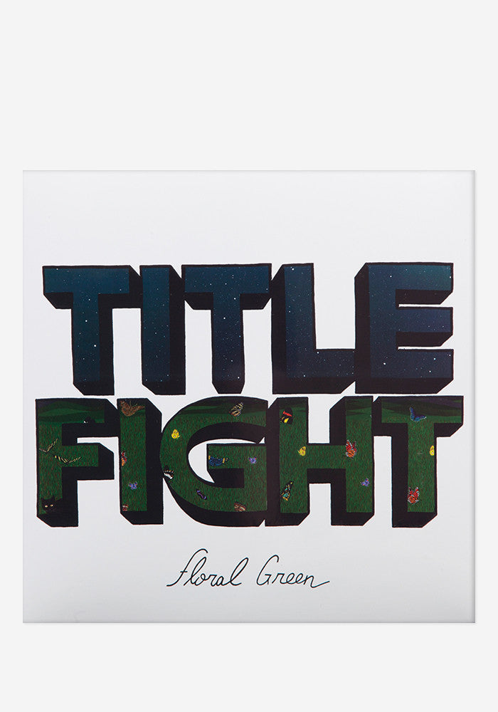 TITLE FIGHT Floral Green LP