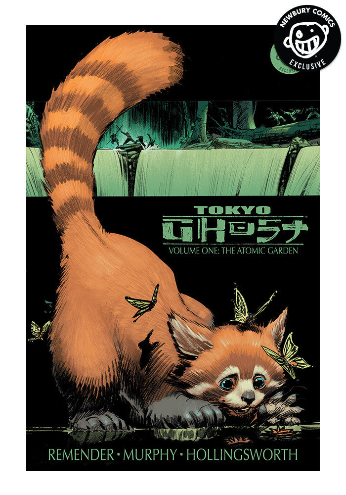 IMAGE COMICS Tokyo Ghost Volume 1: Atomic Garden Exclusive Variant Graphic Novel