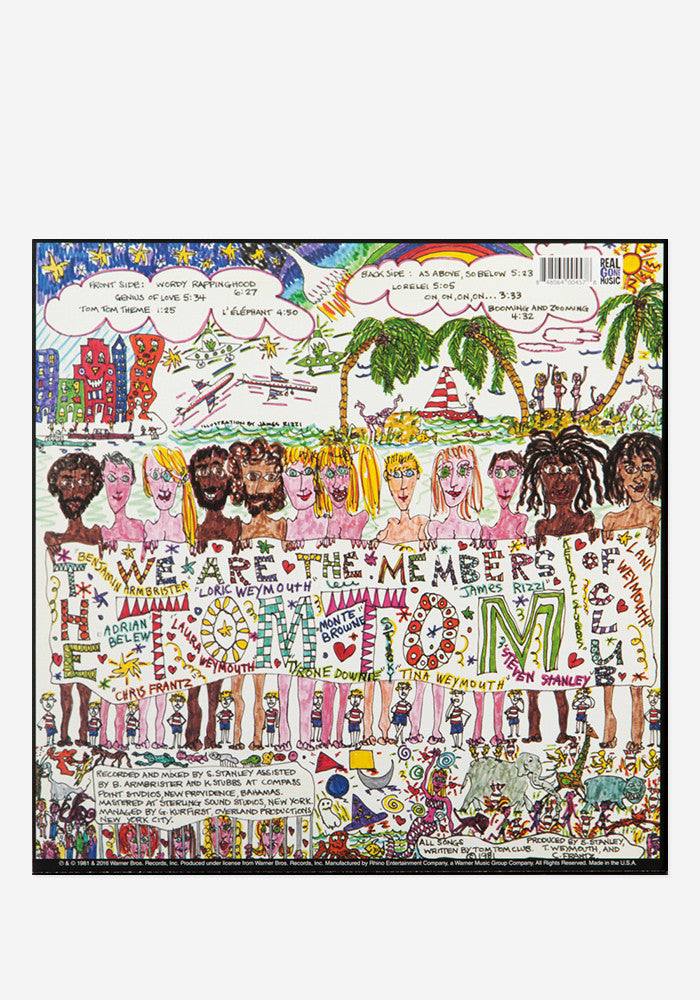 TOM TOM CLUB Tom Tom Club Exclusive LP