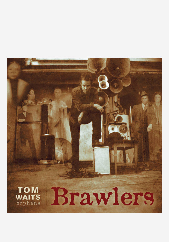 TOM WAITS Brawlers 2 LP (Color)