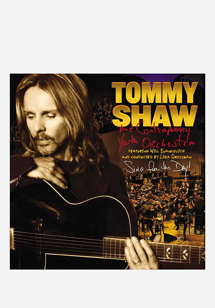 TOMMY SHAW WITH CONTEMPORARY YOUTH ORCHESTRA Sing For The Day! With Autographed CD Booklet