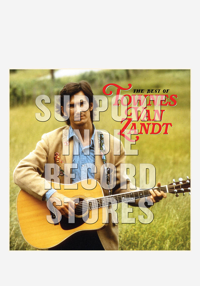 TOWNES VAN ZANDT The Best Of Townes Van Zandt 2LP (Color)