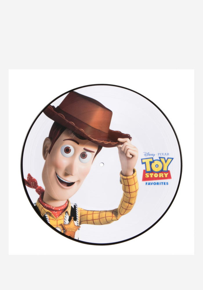 VARIOUS ARTISTS Soundtrack - Toy Story Favorites LP (Picture Disc)