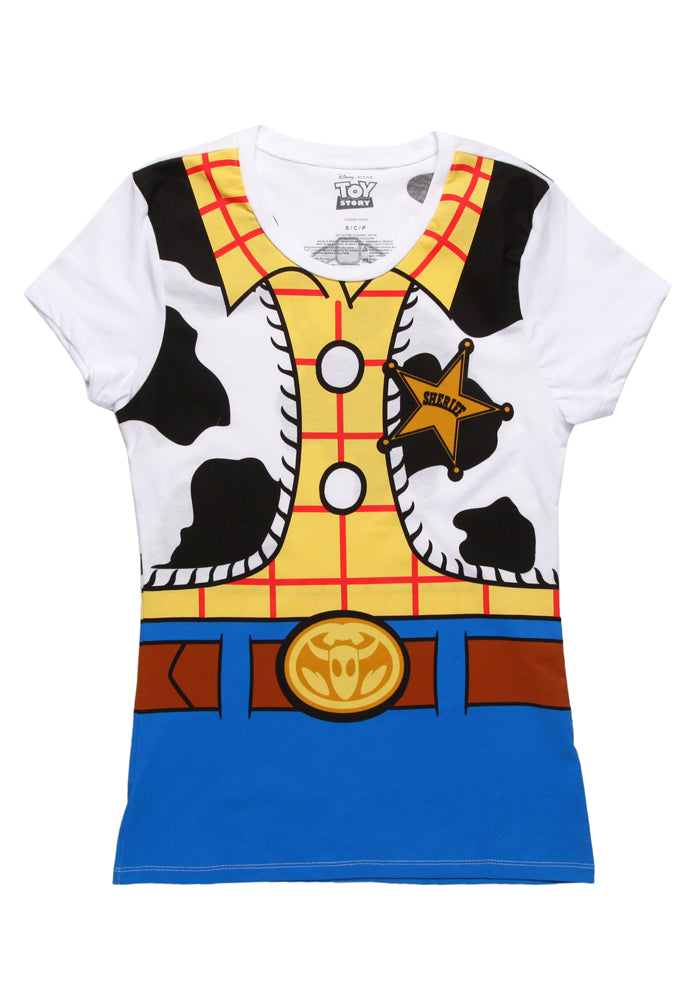 TOY STORY I Am Woody Costume Women's T-Shirt