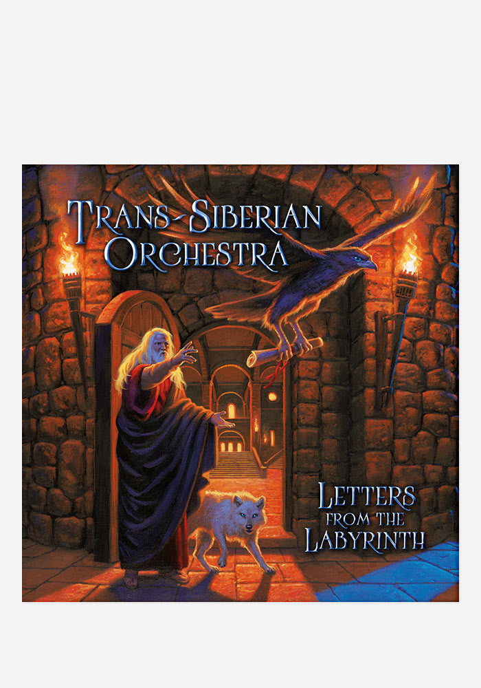 TRANS-SIBERIAN ORCHESTRA Letters From The Labyrinth With Autographed CD Booklet