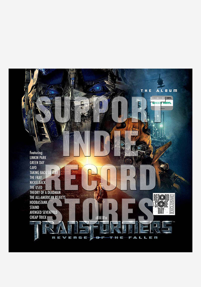 VARIOUS ARTISTS Soundtrack - Transformers: Revenge Of The Fallen 2LP (Color)