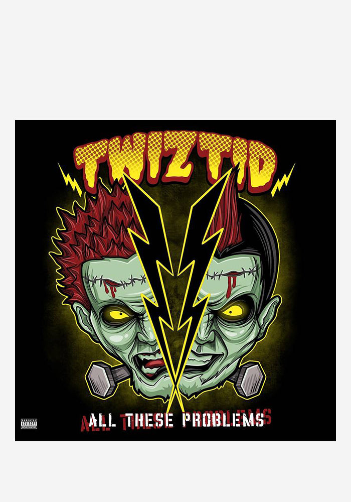 "TWIZTID All These Problems 10"" (Color)"