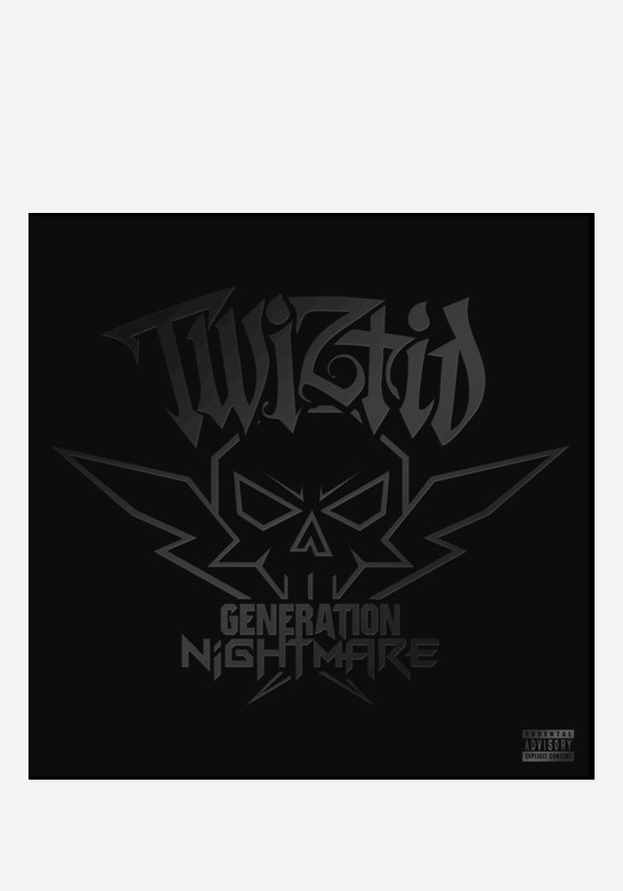 TWIZTID Generation Nightmare CD With Autographed Exclusive Comic