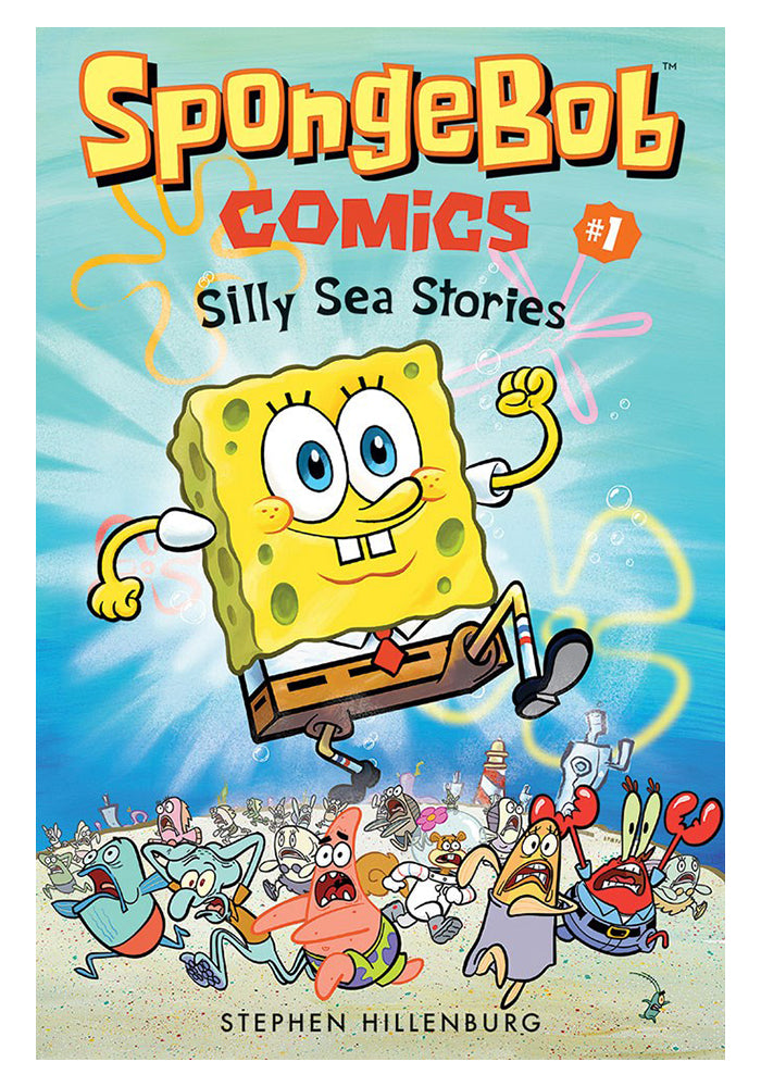 UNITED PLANKTON PICTURES SpongeBob Comics Book 1: Silly Sea Stories Graphic Novel