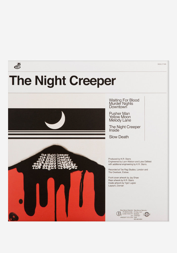 UNCLE ACID AND THE DEADBEATS The Night Creeper Exclusive 2 LP