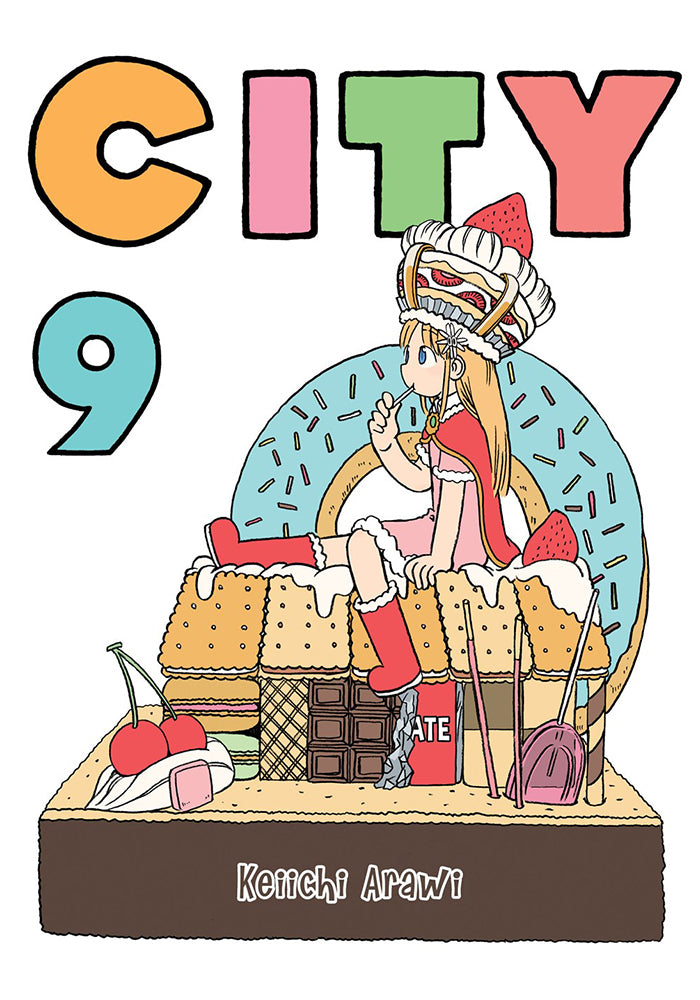 VERTICAL COMICS CITY Vol. 9 Manga