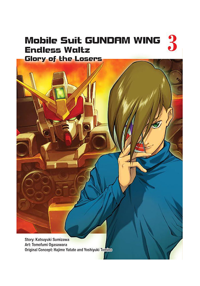 VERTICAL COMICS Mobile Suit Gundam WING: Endless Waltz: Glory of the Losers Vol. 3 Manga