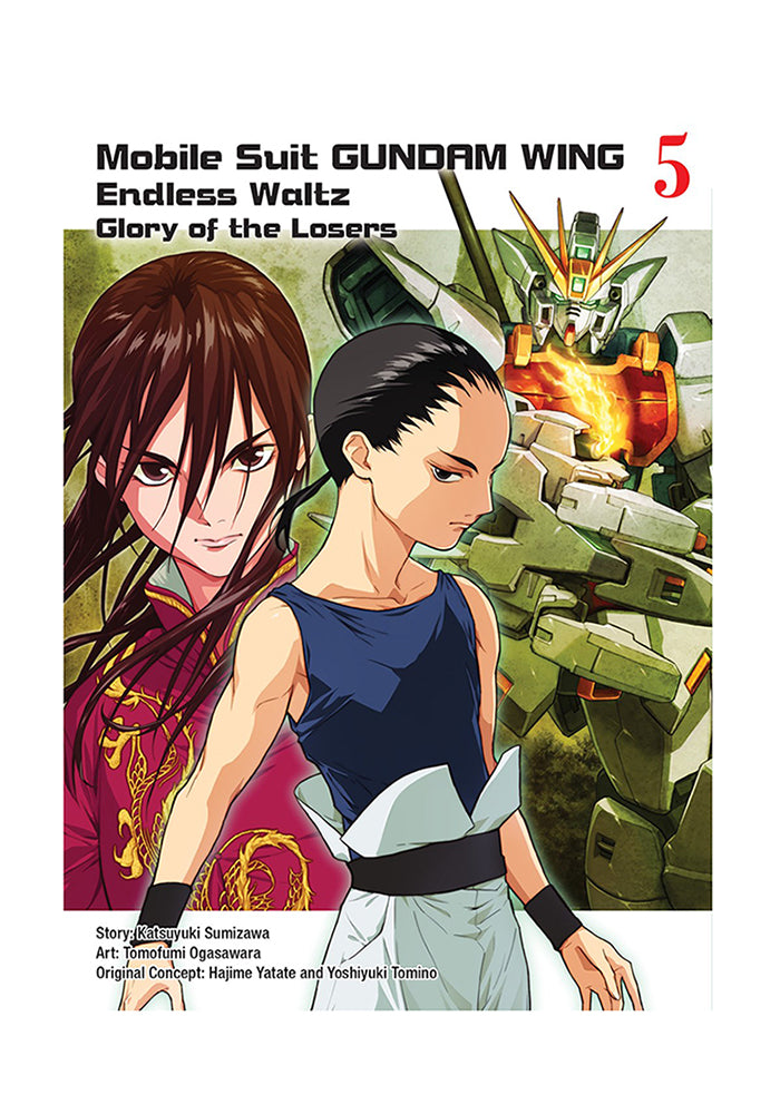VERTICAL COMICS Mobile Suit Gundam WING: Endless Waltz: Glory of the Losers Vol. 5 Manga