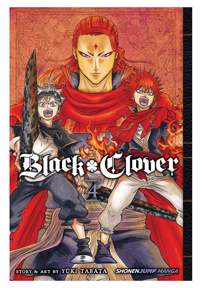 VIZ MEDIA Black Clover Vol. 4 Manga